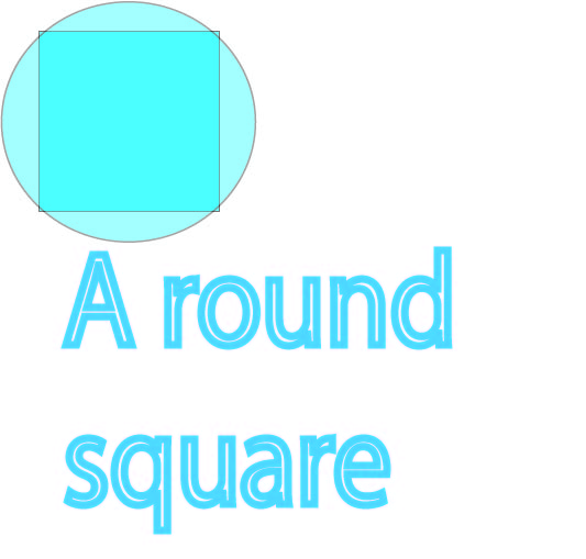 a round square