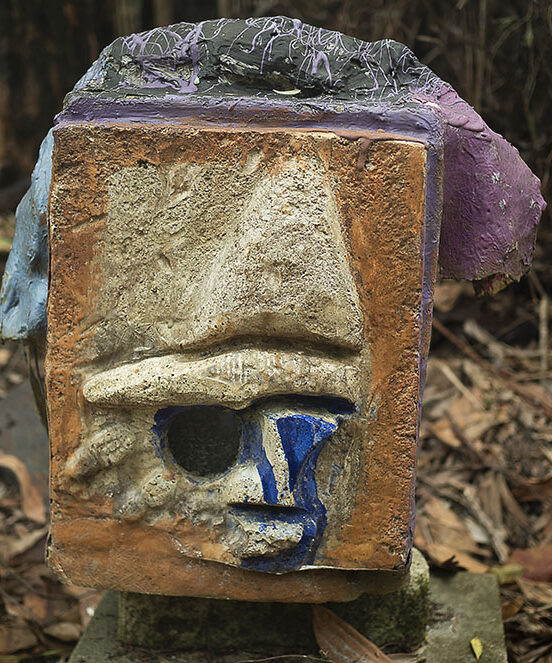 Mixed media cement. Cassowary plaque by Italo Giardina FNQ, Townsville, dry tropics gallery