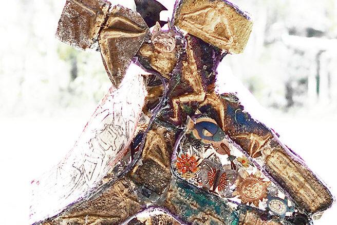Italo Giardina Australia. Triangle pose (Fibreglass, fabric)