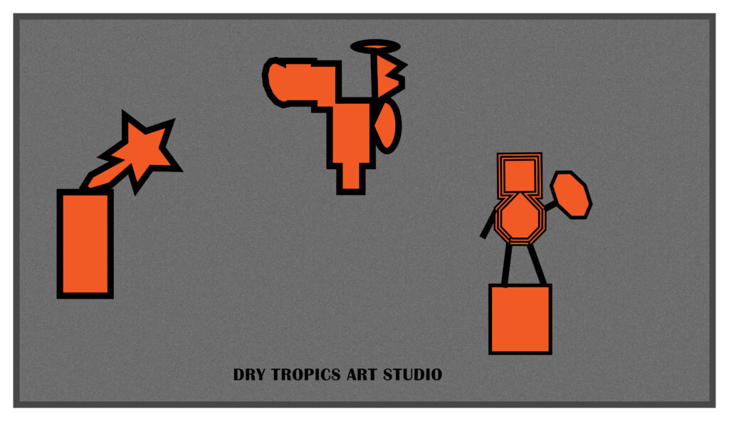 graphics of dry tropics studio by Italo Giardina