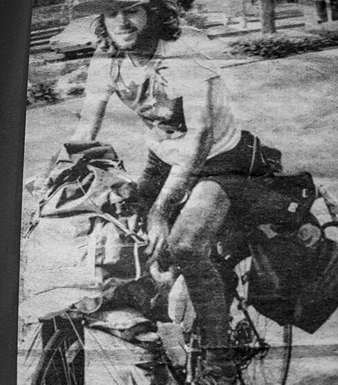 Traveling through Australia 1983