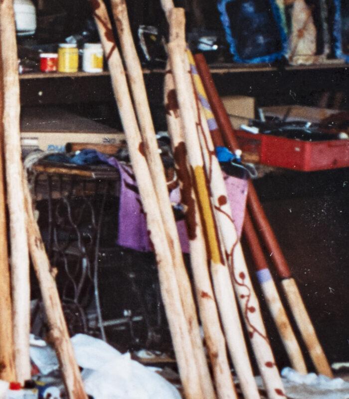 Selection in studio Tathra Brisbane. 1994